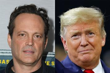 Vince Vaughn Scolded For Shaking Hands With Donald Trump At NCAA Championship