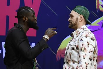 Deontay Wllder Reacts To Tyson Fury's Bizarre Masturbation Routine