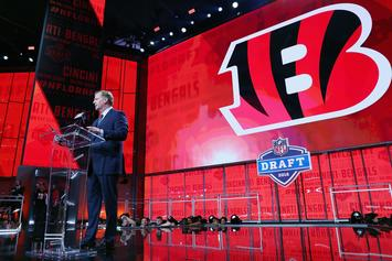 Report: Despite Rumors, Bengals Have No Plans To Trade 1st Overall Pick