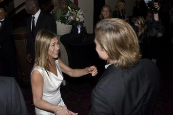 Brad Pitt & Jennifer Aniston Had Fans In A Tizzy With SAG Awards Reunion