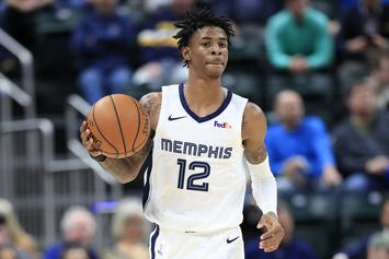 Ja Morant Shows Off Early Look At The Nike Adapt BB 2.0
