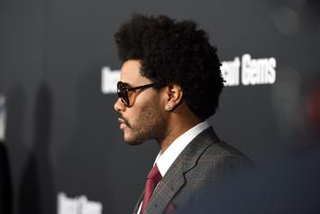 """The Weeknd Isn't Here For Your """"Blinding Lights"""" Period Jokes"""