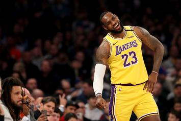 LeBron James Roasted For His Pre-Game Outfit Prior To Lakers Win
