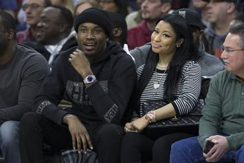 Meek Mill Gets Into Heated Argument With Nicki Minaj & Kenneth Petty In LA Store