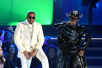 """Nas Meets Lil Nas X On The Grammy Stage For """"Rodeo"""" Performance"""