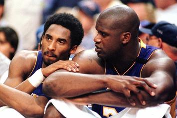 "Kobe Bryant & Shaquille O'Neal Traded Bars On NBA Rap Classic ""3X's Dope"""
