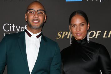 Swizz Beatz Surprises Alicia Keys With Her Own Tea Company For Her Birthday