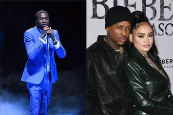 Meek Mill Catches YG & Kehlani Making Out At His Grammys After-Party