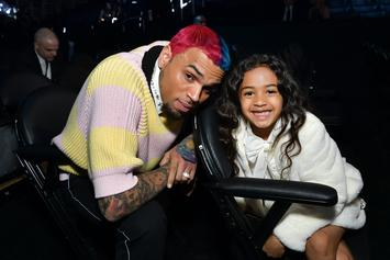 Chris Brown's Daughter Royalty Suffers Injury Trying To Mimic His Famous Spins
