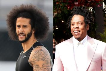 """Colin Kaepernick Wonders Why Jay-Z Sat For Anthem After """"Passed Kneeling"""" Comment"""