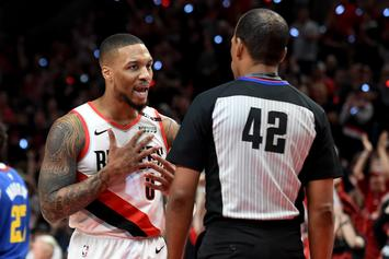 "Damian Lillard Calls Refs' Apology For Missed Call ""Punk A** Sh*t"
