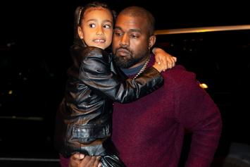 """North West Poses With Tarantula On Her Head During """"Brave The Wild"""" House Visit"""