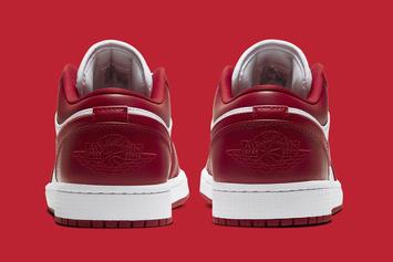 "Air Jordan 1 Low ""Gym Red"" Coming Soon: Official Photos"