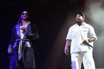 "Ice Cube's Story Of Meeting Snoop Dogg: ""I'm Not Gettin' In The Water With Death Row!"""