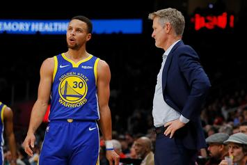 Steve Kerr Gives Huge Update On Steph Curry's Injury Recovery