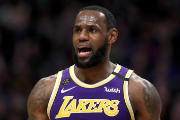 LeBron James Appears To Take Issue With Monté Morris' Trash Talk