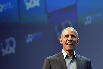 Barack Obama Surprises Players At NBA Rising Stars Game In Chicago
