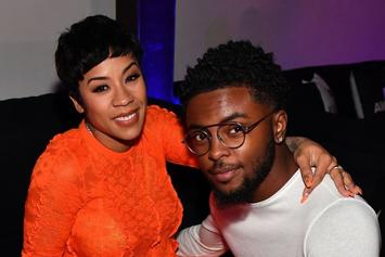 Keyshia Cole Grinds On Niko Khalé As The Couple Promotes His New Single
