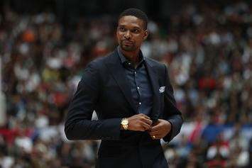 Chris Bosh Reacts To Being Snubbed From 2020 Hall Of Fame Class