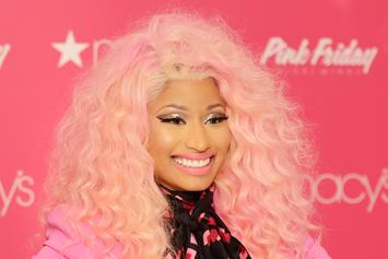 Nicki Minaj Is Pretty In Pink While Returning Home To Trinidad