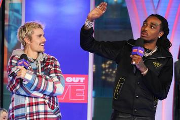 "Justin Bieber's ""Intentions"" Is Now Quavo's 6th Top 10 Solo Hit"