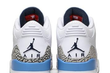 "Air Jordan 3 ""UNC"" Looks Cleaner Than Ever: Official Photos"