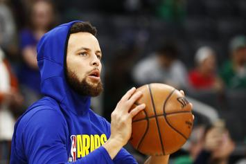 Steph Curry's Nerve Damage In Hand Could Take A While To Heal