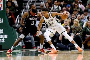 James Harden Returns Fire At Giannis Antetokounmpo: Watch