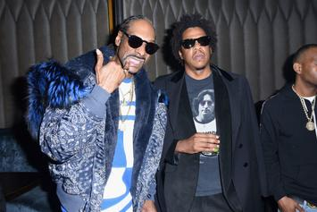 Snoop Dogg & Jay-Z Take It Back With Courtside Pic