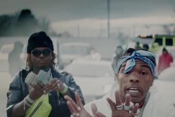 """Lil Baby & Gunna Are On Fire In ATL For The """"Heatin Up"""" Video"""