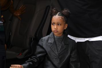 North West Makes Rap Debut At Yeezy Season 8