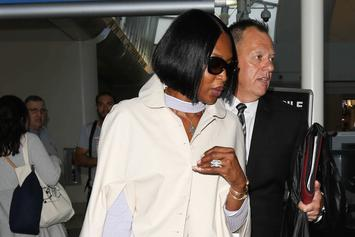 Naomi Campbell Takes Extra Travel Precautions Due To Coronavirus