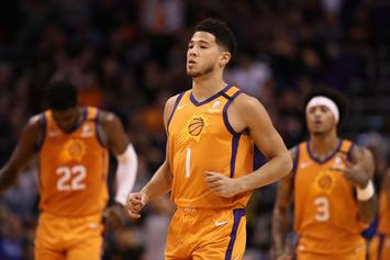 Devin Booker Learns Of NBA Shutdown While Streaming: Watch
