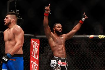 Tyron Woodley Takes Aim At Colby Covington As Replacement Opponent