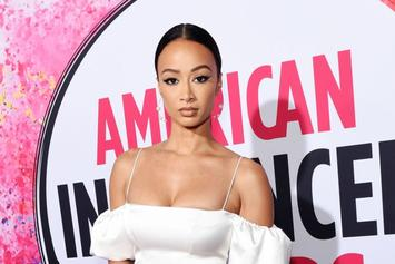 "Draya Michele Gives Sexy ""Stay Home"" COVID-19 PSA In Lingerie"