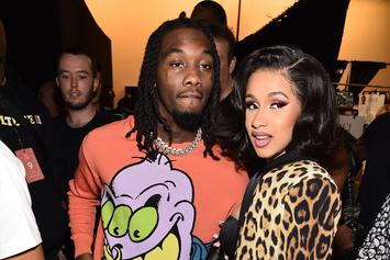 Offset Appears To Scramble To Hide Phone From Cardi B