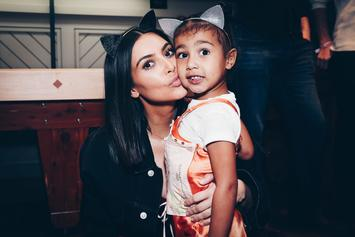 Kim Kardashian & North West Rock Matching Braids In Throwback Photo