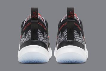 "Jordan Why Not Zer0.3 ""Black Cement"" Unveiled: Photos"