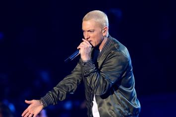"Eminem Announces ""Music To Be Quarantined By"" Playlist"