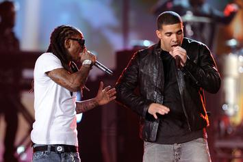 """Lil Wayne Reminisces With Drake About Playing """"Lollipop"""" For Kobe Bryant"""