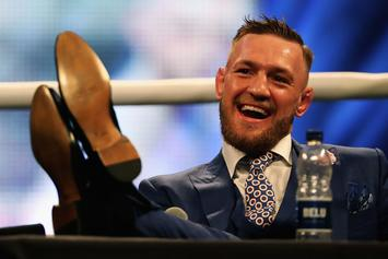 "Conor McGregor Eager For A Match On ""Fight Island"""