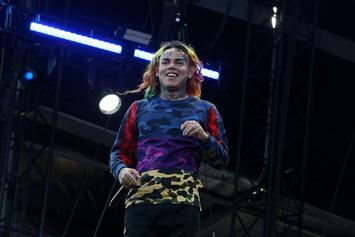 """6ix9ine's """"GOOBA"""" Becomes Fastest Video To Reach 100 Million Views On Youtube"""