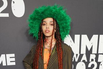 FKA Twigs Wears Nothing But A Snake In IG Photo