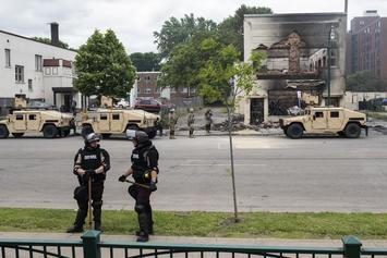 National Guard Arrives In Minneapolis, Appears To Shoot At Residents
