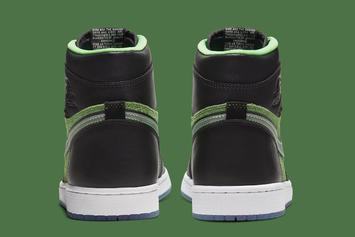 "Air Jordan 1 High Zoom ""Rage Green"" Officially Revealed: Photos"