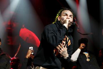 """6ix9ine & Akon Link Up And Preview """"Locked Up Part 2"""""""