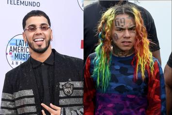 Anuel AA Catches Heat For IG Live With 6ix9ine Following Snitch Remarks