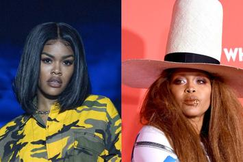 Teyana Taylor Says Erykah Badu Will Help Deliver Her Baby