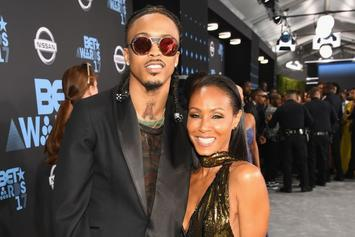 """August Alsina Confirms Romance With Jada Pinkett Smith: """"I Sat Down With Will"""""""