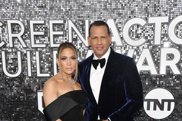 A-Rod Manages To Keep Up With J-Lo During TikTok Dance Challenge